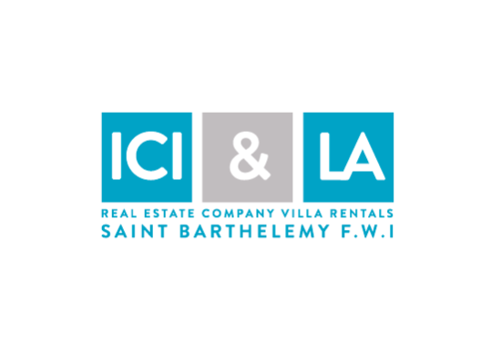 Logo ICI & LA SAINT BARTHELEMY fond Blanc